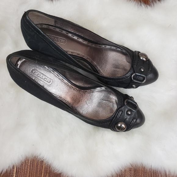 Coach Shoes - COACH WEDGE HEELS